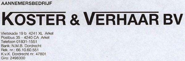Koster en Verhaar